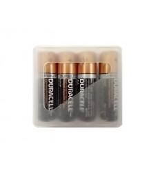 Duracell - Baterie alkaliczne AA LR6 1,5V - Zestaw 4 sztuk w pudełku
