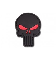 4TAC - Naszywka Punisher Red Eyes - 3D PVC