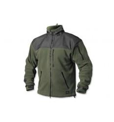 Helikon - Bluza polarowa Classic Army - Zielony/Czarny - BL-CAF-FL-16