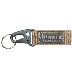 MAXPEDITION - Keyper 1703K - Khaki - Karabinek z trokiem