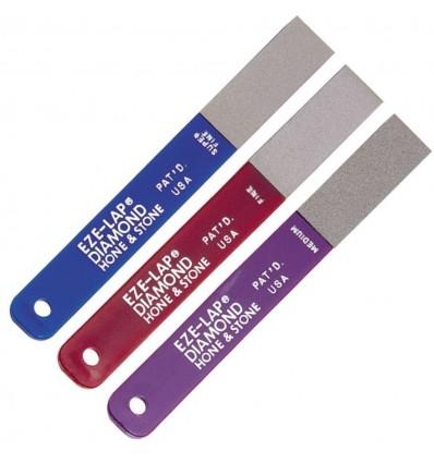 EZE-LAP - Zestaw trzech osełek diamentowych L-PAK - Model L - Gradacja Medium/Fine/Super Fine