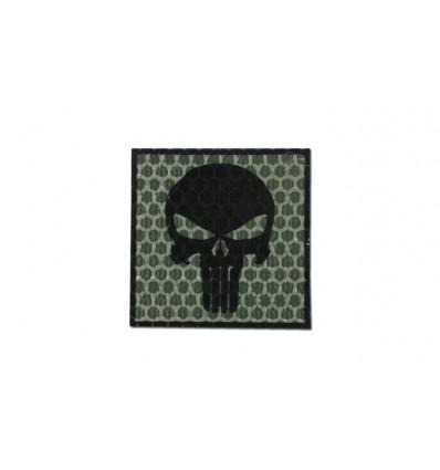 Combat-ID - Naszywka Punisher - Zielony - Gen I - H5