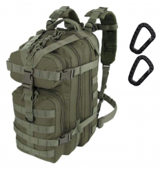 CAMO - Plecak ASSAULT Backpack - 25Litrów - Zielony OD - PL-AS-BP-OG