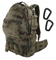 CAMO - Plecak CARGO Backpack - 32Litry - ATC-FG A-TACS - PL-CA-BP-AT-F