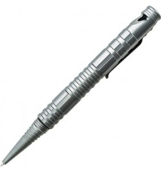 Schrade - Długopis z gwizdkiem - Survival Tactical Pen w/Ferro Rod and Whistle Grey - SCPEN4G