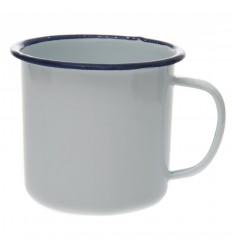 Fosco - Kubek emaliowany trapersk - Emanual Cup - 350ml - Biały