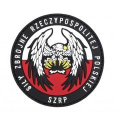 101 Inc. - Naszywka Siły Zbrojne Rzeczypospolitej Polskiej - 3D PVC - Kolor