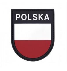 101 Inc. - Naszywka POLSKA - Tarcza - 3D PVC