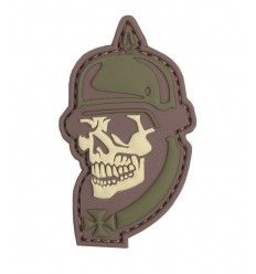101 Inc. - Naszywka 1914 Soldier Skull - 3D PVC - MultiCam