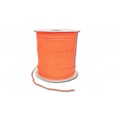 Paracord MIL-SPEC 550-7 / 4mm kontraktowy Safety Orange MADE IN USA - 1 metr