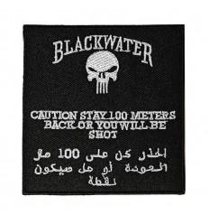 101 Inc. - Naszywka Blackwater 100 metrów - SWAT