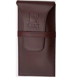 CRKT - Etui / pokrowiec na nóż składany - Brązowa skóra - CRD7233