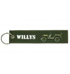 Brelok / Zawieszka do kluczy - WILLYS - Zielony