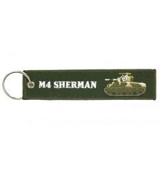 Brelok / Zawieszka do kluczy - M4 Sherman - Zielony