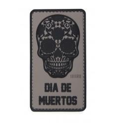 101 Inc. - Naszywka Dia De Muertos /Dzień Umarłych/ - 3D PVC - Szary