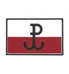 101 Inc. - Naszywka Polska Walcząca - 3D PVC - Kolor