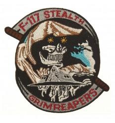 101 Inc. - Naszywka F-117 Stealth - Grim Reapers