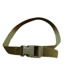 WISPORT - Trok z klamrą zatrzaskową - 100 cm /25mm/ - Olive