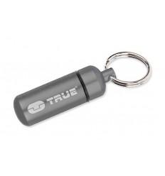 True Utility - CashStash - Pojemnik / Brelok ze schowkiem - Srebrny - TU241