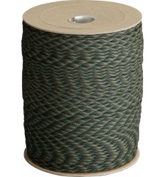 Atwood - Linka Paracord MIL-SPEC 550-7 / 4mm kontraktowy Woodland MADE IN USA - 1 metr