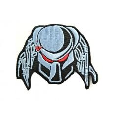 Mtac - Naszywka PREDATOR - Iron Grey