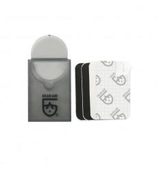 McNETT - Łatki naprawcze - Tenacious Tape Mini Patches - Czarne / Przezroczyste - 10760
