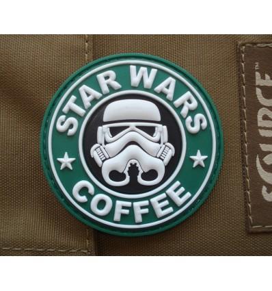 4TAC - Naszywka Star Wars Coffee - 3D PVC