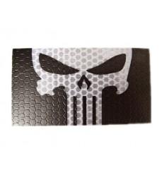Combat-ID - Naszywka Punisher - Czarny / Biały - Gen I