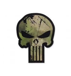 Combat-ID - Naszywka Punisher - A-TACS FG- NIR