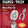 SWISS TECH - Multitool 9 in 1 - MICRO-PLUS EX