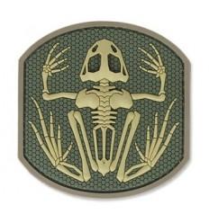 MIL-SPEC MONKEY - Naszywka Frog Skeleton - 3D PVC - MultiCam