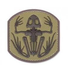 MIL-SPEC MONKEY - Naszywka Frog Skeleton - PVC - Desert
