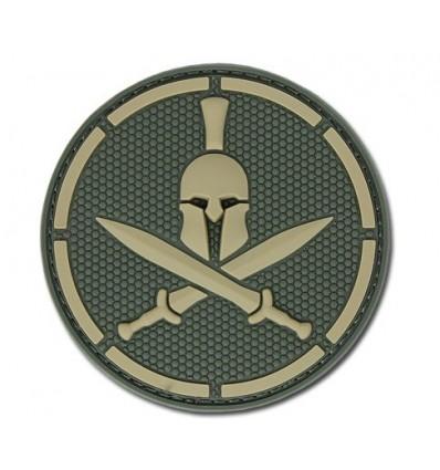 MIL-SPEC MONKEY - Naszywka Spartan Helmet - PVC - Multicam