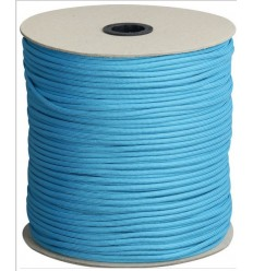Paracord MIL-SPEC 550-7 / 4mm kontraktowy Neon Turquoise MADE IN USA - 1 metr