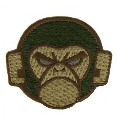 MIL-SPEC MONKEY Naszywka Monkey Logo - Forest