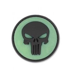 4TAC - Naszywka Punisher Skull 3D - Świecące tło