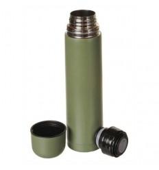 Mil-Tec - Termos stalowy Vakuum Flask - 1 Litr - Zielony - 14532000