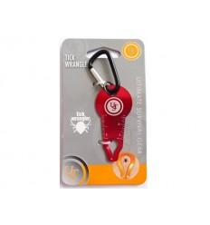 Ultimate Survival UST - Przyrząd do usuwania kleszczy - Tick Wrangler - Czerwony