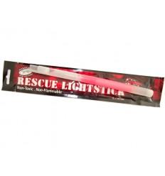 Mil-Tec - Ratunkowe światło chemiczne z gwizdkiem - RESCUE Lightstick 1,5x24cm - Czerwony - 17814915