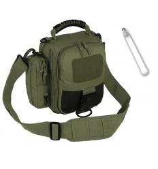 CAMO - Torba na ramię INDY - 5,5Litra - Zielony OD - TO-IN-SB-OG