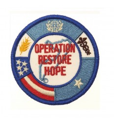 101 Inc. - Naszywka OPERATION RESTORE HOPE