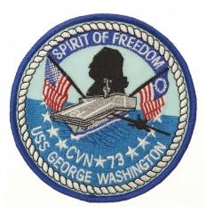 101 Inc. - Naszywka SPIRIT OF FREEDOOM - USS GEORGE WASHINGTON