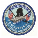 101 Inc. - Naszywka SPIRIT OF FREEDOOM - USS GEORGE WASHINGTON