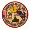 101 Inc. - Naszywka DESERT SHIELD COMBATANT - SHOWDOWN IN THE GULF