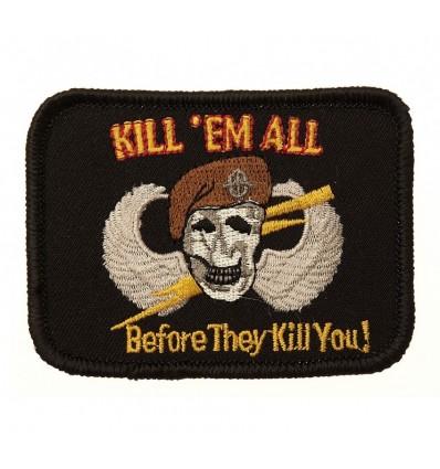 101 Inc. - Naszywka Kill'em All - Before They Kill You!