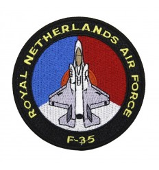 101 Inc. - Naszywka F-35 ROYAL NETHERLANDS AIR FORCE
