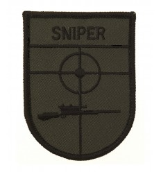 FOSTEX - Naszywka - Sniper - Zielony