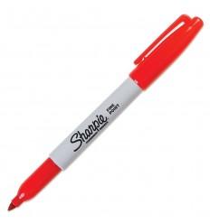Sharpie - Marker permanentny 1.00mm - FIne Point - Czerwony - 30002