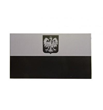 Combat-ID - Naszywka Polska Herb JWK Lubliniec - Duża - Ghost - Szary/Czarny