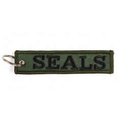 Brelok / Zawieszka do kluczy - SEALS /Navy Seals/ - Zielony OD